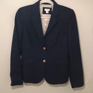 J Crew Navy blazer size 4